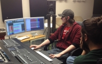 Working with Rob (Space Junk drummer)